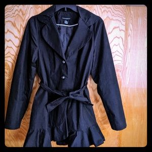 Cynthia Rowley tie waist jacket sz L